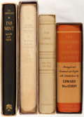Books:Literature 1900-up, [T.E. Lawrence, Alexander Woollcott, Irving Stone, et al]. Group ofFour Limited First Editions in Slipcases. Various publis... (Total:4 Items)
