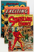 Golden Age (1938-1955):Miscellaneous, Comic Books - Assorted Golden Age Comics Group (Various Publishers, 1940s) Condition: Average GD.... (Total: 6 Comic Books)