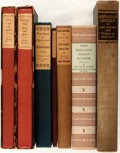 Books:Americana & American History, [American History]. Group of Seven Limited or First Editions.Various publishers and dates. All first editions, most limited...(Total: 7 Items)