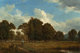 DAVID JOHNSON (American, 1827-1908) A Farm on the Genesee River Oil on canvas 12-1/8 x 18-1/8 inches (30.8 x 46.0 cm)