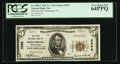 National Bank Notes:Pennsylvania, Greensburg, PA - $5 1929 Ty. 1 The First NB Ch. # 2558. ...