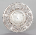 Silver Holloware, American:Bowls, A WHITING SILVER RETICULATED BOWL . Whiting Manufacturing Company,New York, New York, circa 1900. Marks: (W-griffin), STE...