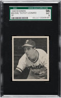 Baseball Cards:Singles (1940-1949), 1948 Bowman Emil Leonard SP #24 SGC 96 Mint 9 - Pop One, OneHigher! ...