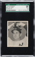 Baseball Cards:Singles (1940-1949), 1948 Bowman Joe Page SP #29 SGC 96 Mint 9 - The Finest SGC Example! ...