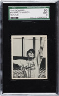 Baseball Cards:Singles (1940-1949), 1948 Bowman Marty Marion #40 SGC 96 Mint 9 - Pop One, None Higher! ...
