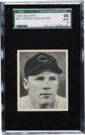 Baseball Cards:Singles (1940-1949), 1948 Bowman Herman Wehmeier #46 SGC 96 Mint 9 - The Finest SGCExample! ...