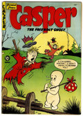Golden Age (1938-1955):Cartoon Character, Casper the Friendly Ghost #4 (St. John, 1951) Condition: FN-....