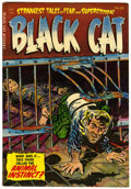 Golden Age (1938-1955):Horror, Black Cat Mystery #52 (Harvey, 1954) Condition: VF+....