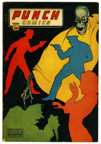 Punch Comics #11 (Chesler, 1944) Condition: FN-