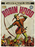 Golden Age (1938-1955):Classics Illustrated, Classic Comics #7 Robin Hood - First Edition (Gilberton, 1942) Condition: VG-....