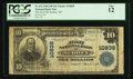National Bank Notes:Montana, Scobey, MT - $10 1902 Plain Back Fr. 632 The First NB Ch. # 10838. ...