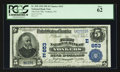 National Bank Notes:New York, Yonkers, NY - $5 1902 Plain Back Fr. 598 The First NB Ch. # (E)653. ...