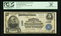 National Bank Notes:Maine, Thomaston, ME - $5 1902 Plain Back Fr. 598 The Georges NB Ch. #1142. ...