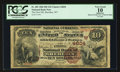 National Bank Notes:Wyoming, Sheridan, WY - $10 1882 Brown Back Fr. 485 The First NB Ch. #(W)4604. ...