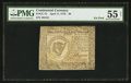 Colonial Notes:Continental Congress Issues, Continental Currency April 11, 1778 $8 PMG About Uncirculated 55 Net.. ...
