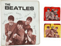 Music Memorabilia:Memorabilia, Beatles Original Memorabilia, Two Wallets and a Binder (circa 1964). ... (Total: 3 Items)