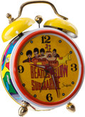 Music Memorabilia:Memorabilia, The Beatles Yellow Submarine Mini Alarm Clock (Sheffield,1968).... (Total: 3 Items)