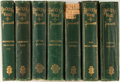 Books:Literature Pre-1900, [Charles Dickens].Group of Seven Titles in the Works of CharlesDickens Illustrated series. Boston: Ticknor and ... (Total: 7Items)