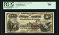 National Bank Notes:Maine, Bath, ME - $10 1882 Brown Back Fr. 479 The Bath NB Ch. # 494. ...