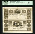 Obsoletes By State:Ohio, Mount Pleasant, OH- The Bank of Mount Pleasant $20-$50 Wolka1721-26 Uncut Proof Sheet. ...