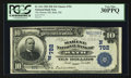 National Bank Notes:Maine, Bath, ME - $10 1902 Date Back Fr. 616 The Marine NB Ch. # (N)782....