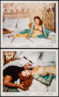 """Movie Posters:Adventure, Maureen O'Hara in Flame of Araby (Universal International, 1951).Color Photos (2) (8"""" X 10""""). Adventure.. ... (Total: 2 Items)"""