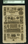 Obsoletes By State:Ohio, Richmond, OH- The Erie Salt Company $1-$1.50-$2-$3 Wolka 2324-11Uncut Remainder Sheet. ...