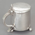 Silver Holloware, Continental:Holloware, A SCANDINAVIAN SILVER PEG-TANKARD. Maker unidentified, 18thcentury. Marks: (partially effaced mark) B, No 476/69 1/2.4...