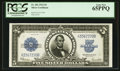 Large Size:Silver Certificates, Fr. 282 $5 1923 Silver Certificate PCGS Gem New 65PPQ.. ...