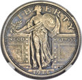 1916 25C -- Harshly Cleaned -- NGC Details. AU. ...(PCGS# 5704)