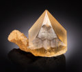 Minerals:Thumbnail, CALCITE. Irving Materials Quarry, Anderson, Madison County, Indiana, USA. ...