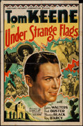 """Movie Posters:Western, Under Strange Flags & Other Lot (Crescent Pictures, 1937). One Sheets (2) (27"""" X 41""""). Western.. ... (Total: 2 Items)"""