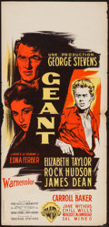 """Movie Posters:Drama, Giant (Warner Brothers, 1957). French Poster (14"""" X 30""""). Drama.. ..."""