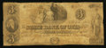 Obsoletes By State:Ohio, Cleveland, OH- The State Bank of Ohio, Merchants Branch $3 Aug. 3,1847 Wolka 0776-15 Contemporary Counterfeit. ...