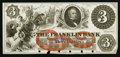 Obsoletes By State:Ohio, Franklin, OH- The Franklin Bank of Portage County $3 Wolka 1120-08Proof. ...
