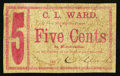 Obsoletes By State:Ohio, Jackson, OH- C. L. Ward 5¢ Wolka 1381-01. ...