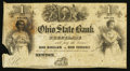 Obsoletes By State:Ohio, Newton, OH- The Ohio State Bank of Free Trade $1 Remainder Wolka1969-05. ...