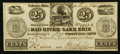 Obsoletes By State:Ohio, Urbana, OH- The Mad River and Lake Erie Railroad Co. 25¢ June 10,1841 Wolka 2672-01. ...