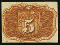 Fractional Currency:Second Issue, Fr. 1232SP 5¢ Second Issue Narrow Margin Back New.. ...