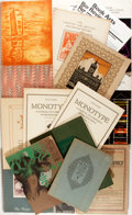Books:Books about Books, [Books about Books]. Group Lot of Miscellaneous Periodicals about the Book Arts and Book Production. Various dates. Very goo...
