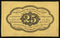 Fractional Currency:First Issue, Fr. 1282SP 25¢ First Issue Narrow Margin Back New.. ...
