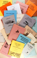 Books:Books about Books, [Bookseller Catalogs]. Group Lot of Bookseller Catalogs from The Jenkins Company. Various dates. Very good. . ...