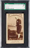 Baseball Cards:Singles (Pre-1930), 1887 N175 Type 2 Gypsy Queen King Kelly (Bat At Ready...) SGC 50VG/EX 4 - The Finest Example Known! ...
