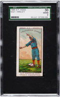 "Baseball Cards:Singles (Pre-1930), 1888 N321 S.F. Hess Creole Cigarettes ""Big"" Smith SGC 30 Good 2...."