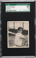 Baseball Cards:Singles (1940-1949), 1948 Bowman Ralph Kiner #3 SGC 96 Mint 9 Pop Two, None Higher! ...