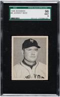 Baseball Cards:Singles (1940-1949), 1948 Bowman Johnny Mize #4 SGC 96 Mint 9....