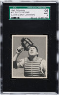 Baseball Cards:Singles (1940-1949), 1948 Bowman Buddy Rosar #10 SGC 96 Mint 9 - Pop Two, One Higher....