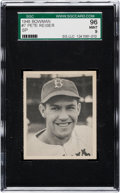 Baseball Cards:Singles (1940-1949), 1948 Bowman Pete Reiser SP #7 SGC 96 Mint 9 - None Higher! ...