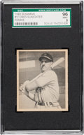 Baseball Cards:Singles (1940-1949), 1948 Bowman Enos Slaughter #17 SGC 96 Mint 9 - None Higher!...