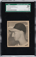 Baseball Cards:Singles (1940-1949), 1948 Bowman Warren Spahn #18 SGC 88 NM/MT 8....